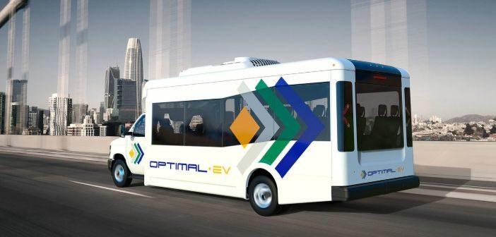Optimal-EV introduces S1LF low-floor electric shuttle bus