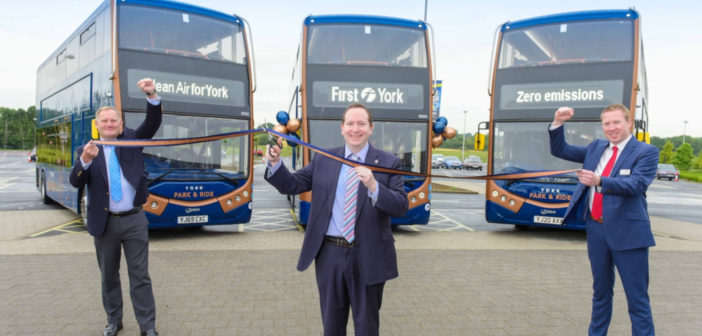 First Bus Rolls Out UK U0026 39 S Biggest Zero Emission Park And