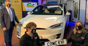 UK's first electric vehicle training centre opens