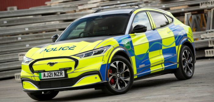 Ford builds Mustang Mach-E police concept for UK forces