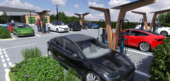 Osprey announces major rollout of rapid EV charging hubs across UK